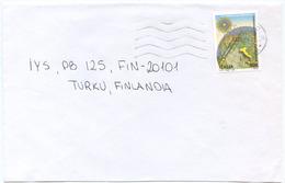 1998 GIFFONI FILM  L. 900 ISOLATO 13.11.98 BUSTA X FINLANDIA RARA DESTINAZIONE E OTTIMA QUALITÀ (7004) - 6. 1946-.. Repubblica