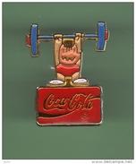COCA COLA *** JO BARCELONA 92 *** COBI HALTEROPHILIE*** 0057 - Coca-Cola