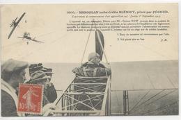CPA- AVIATION - Blériot - Pécoud - Monoplan - JUVIZY - 1er Septembre 1913 - Frankreich