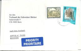 Streifband  Wien - Bern  (Priority - Taxe Réduite)          1998 - 1991-00 Storia Postale