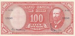 Chile 1960-61 100 PESOS UNC - Chile