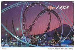 Télécarte Japon / 110-011 - PARC D´ATTRACTION - AMUSEMENT PARK Japan Phonecard - VERGNÜGUNGSPARK - ATT 305 - Jeux