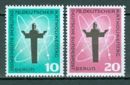 BERLIN - Komplettsatz Mi-Nr. 179 - 180 Deutscher Katholikentag Berlin Postfrisch - Ungebraucht