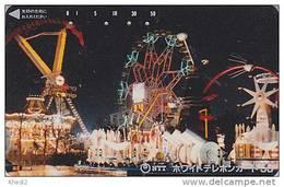 Télécarte Japon / 110-011 - PARC D´ATTRACTION / Star Ship - AMUSEMENT PARK Japan Phonecard - VERGNÜGUNGSPARK - ATT 352 - Jeux
