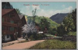 Ormonts-Dessous - En Cergniat - Im Frühling - Photo: E. Rossier No. 8115 - VD Vaud