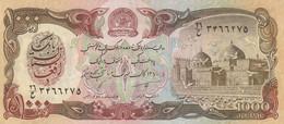 Afghanistan 1991? 1000 AFGHANIS UNC - Afghanistán