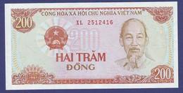 VIETNAM 1987 200 DONG UNC - Vietnam