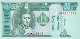 Mongolia 2002 10 TUGRIK UNC - Mongolia