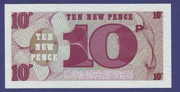 GREAT BRITAIN - BRITISH ARMED FORCES 10 NEW PENCE 6th Series UNC - Emisiones Militares