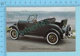 Car, Automobile - 1924 Chrisler Roadster 4 Cylindres  -  2 Scans - Voitures De Tourisme