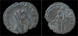 Claudius II Gothicus Billon Antoninianus Providentia Standing Left - 5. L'Anarchie Militaire (235 à 284)