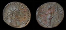 Tetricus I Billon Antoninianus Victory Advancing Left - 5. L'Anarchie Militaire (235 à 284)