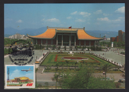 Taiwan R.O.CHINA -Maximum Card- Dr.Sun Yat-Sen Memorial Hall