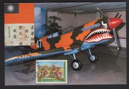 Taiwan R.O.CHINA -Maximum Card- 70th Anniversary Of Flying Tigers