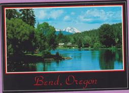 Usa °° Orégon - BEND - Deschutes River - écrite ° TP NEUF  **  LUXE - Etats-Unis