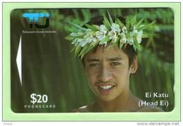 Cook Islands - 1995 Second Issue $20 Ei Katu - Mint - Isole Cook
