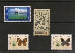 NOUVELLE CALÉDONIE  P.A. Année 1989/90 N° Y/T :263/266** - Poste Aérienne