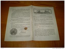 Loi An VIII:Proclamation Du Conseil Des Cinq Cents Sur L´état De La République : Bonaparte,Cambacérés, Sieyes...........
