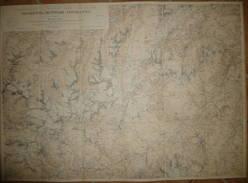 Silvretta Muttler Lischanna - Excursionskarte Des Schweizer Alpen Club Pro 1898 - Eidgenössisches Topographisches Bureau - Topographische Karten