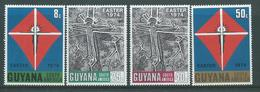 Guyana 1974 Easter Set Of 4 MNH - Guyana (1966-...)