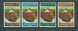 Guyana 1972 Peaceful Prophet Set Of 4 MNH - Guyana (1966-...)