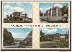 Gorizia - Confine ITALIA - Jugoslavia : Il Castello, Stazione M. Santo, Confine Casarossa, Rafut E Castagnavizza - Gorizia