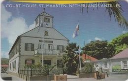 NETHERLANDS ANTILLES  :  ST MAARTEN - COURT HOUSE  .