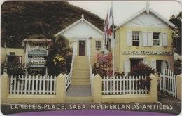 NETHERLANDS ANTILLES  :  SABA  - LAMBEE'S PLACE   . - Antilles (Netherlands)