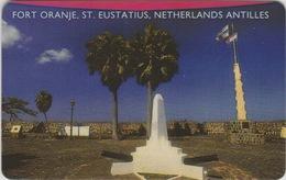 NETHERLANDS ANTILLES  :  ST EUSTATIUS - FORT ORANJE  . - Antilles (Netherlands)