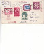 Nations Unies - New York - Lettre Taxée De 1958 - Expédié Et Taxée à Weiz En Autriche - Timbre Avec Vignette - New-York - Siège De L'ONU