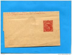 MARCOPHILIE -CHILI-bande Pour Journal 2 Cent-entier Postal-Republica Rouge Neuve  Années 1890-1900 - Chile