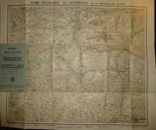Brunn 's Spezial-Karte Das Kaisergebirge Und Die Kitzbühler Alpen Mit Weiterer Umgebung 30er Jahre - 50cm X 60cm - Maßst - Topographische Karten