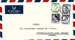 COVER IRAQ  GOFRIL & EMILE MEGARBANE BAGHDAD TO FRANCE - Iraq
