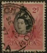 JAMAICA 1956 Local Motifs. USADO - USED. - Jamaica (1962-...)
