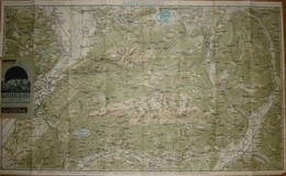 Dr. Köhler 's Gebirgskarten - Kaisergebirge Für Touristen Und Bergsteiger - 59cm X 97cm - Maßstab 1:33'300 - Topographische Karten