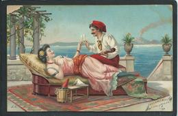 FEMME...LASCIVE...VOLCAN...C2149 - Nus Adultes (< 1960)