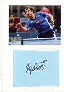 IGOR RUBSTOV (Russie) - Tennis De Table Ping Pong - Autographs