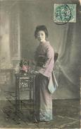 CHINE - Femme Chinoise, Carte Envoyer De Tien Tsin En 1909 - China