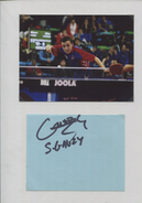 SIMON GAUZY (France) - Tennis De Table Ping Pong - Autographs