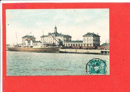62 CALAIS Cpa La Gare Maritime 68 - Calais