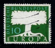 Germany 1958: Stylized Tree With Watermark (Wz 5), MiNo. 294 (o) Used - Europa-CEPT