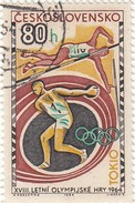 Cecoslovacchia 1964 - Yt 1355 Used   80h - Czechoslovakia