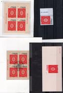 Caisse Des Depots,1ier Et 2ieme Tirage,+ Epreuve,+timbre De Feuille,tous ** -----DETAILS DES FRAIS Au 06 29 68 34 51---- - Blocs & Feuillets