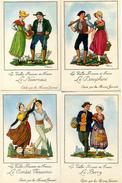 ILLUSTRATEUR DROIT(LOT DE 4 CARTES) PROVINCES DE FRANCE - Droit