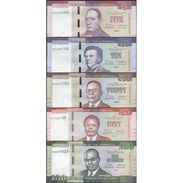 TWN - LIBERIA New - 5, 10, 20, 50, 100 Dollars 2016 UNC Set Of 5 - FREE SHIPPING On Orders Over EUR 150 - Liberia