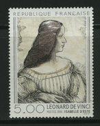FRANCE - LEONARDO DA VINCI - Ritratto A ISABELLE D'ESTE - Celebrità