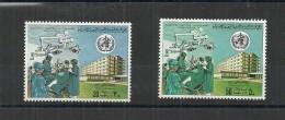 1980 – Libya- World Health Day- Complete Set 2v MNH** - Libia