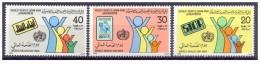 1984-Libya-World Health Day-WHO-OMS- Complete Set 3v MNH** - Libyen