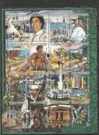 1987-Libya -The 18th Anniversary Of September Revolution-Qathafi Qaddafi–Military Food–Butterflies-Mosque&nd - Libya