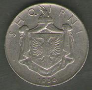 ALBANIA 1/2 LEK 1930 - Albania